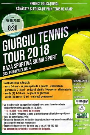 Concurs tenis de camp