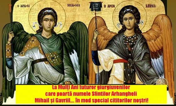 La-multi-ani-de-sfintii-Arhangheli