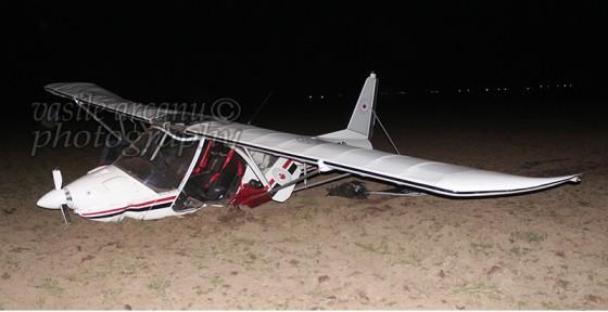 avion cazut